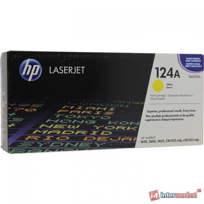 Оригинальный картридж HP Q6002A