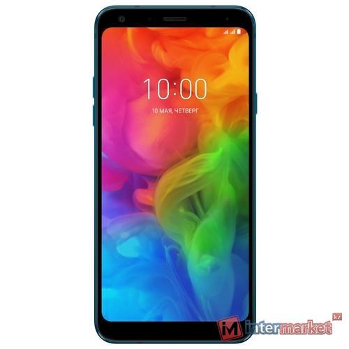 Смартфон LG Q7, New Moroccan Blue